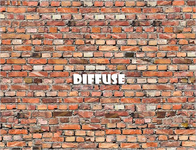Brick Wall 3D Texture Design