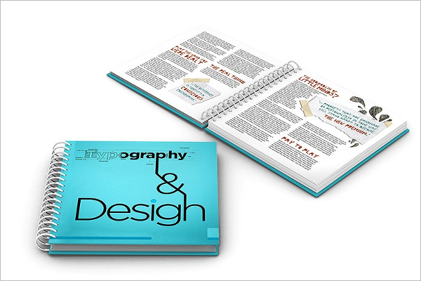 Brochure Mockup Catalog Design