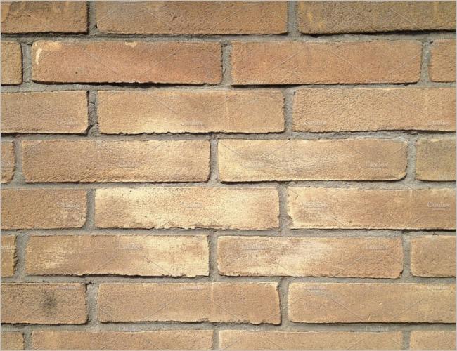 Bronze Brick Texture Design