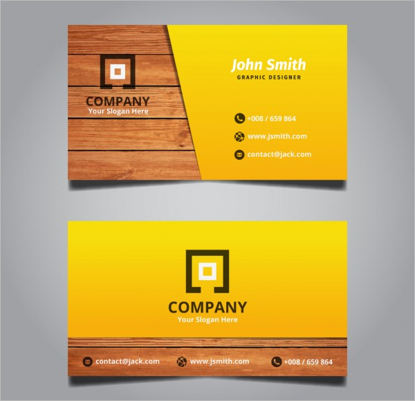 Business Card Free Design Template