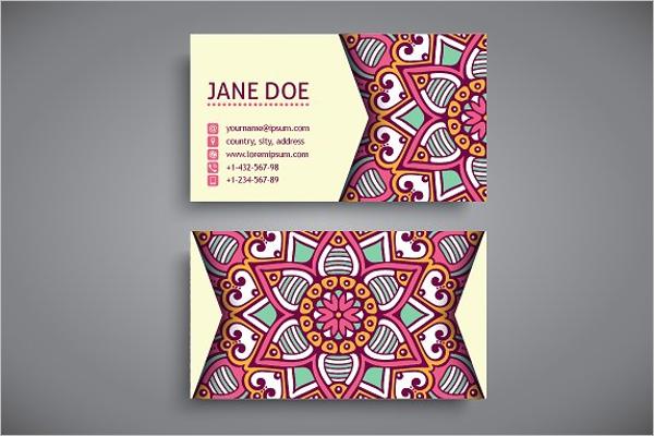 Business Card PSD Design