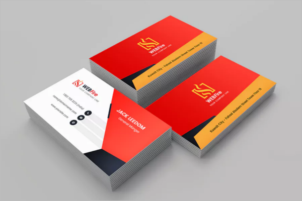 Business Card Template CDR