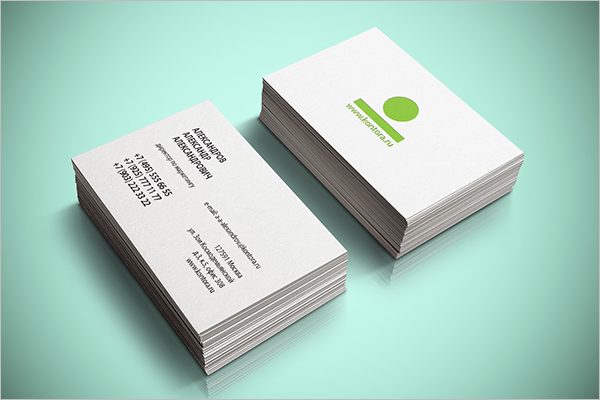 Business Card Template PSD Free