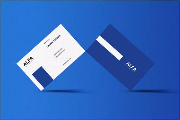 Business Card TemplatePSD