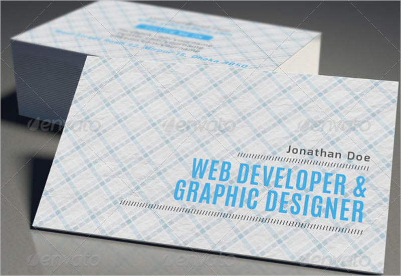 Business Devoloper Business Card Template