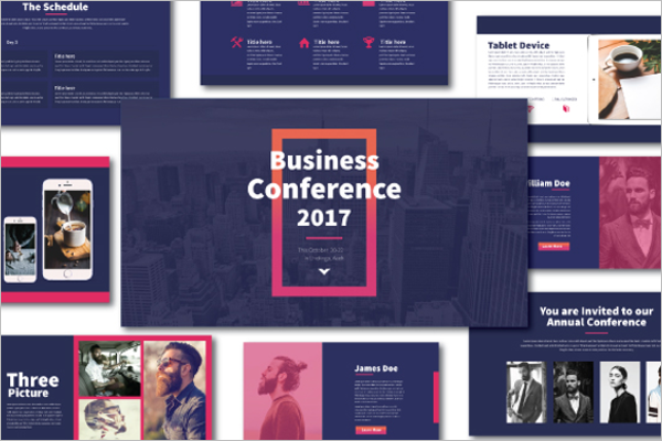 Business Keynote Design Template