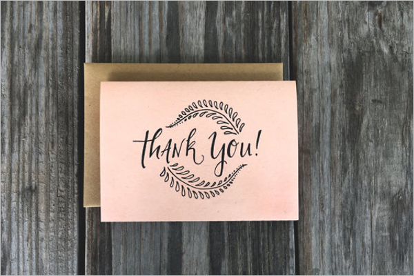 Business Thank You Card Template