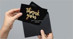 27+ Sample Business Thank You Card Ideas