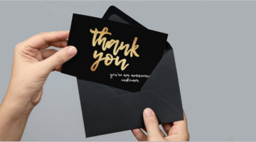 Business Thank You Card Templates