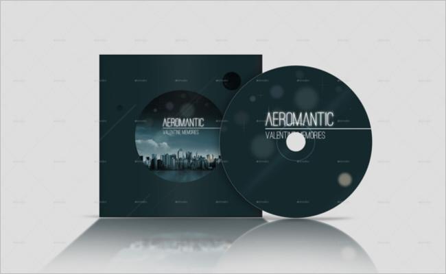 CD Case Mockup Design