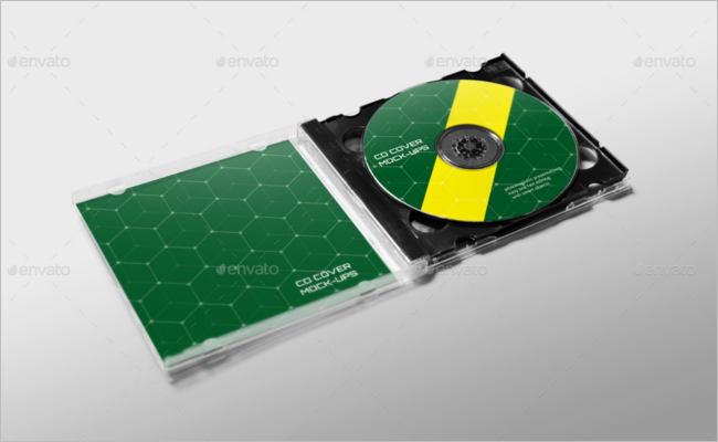 CD Cover Mockup Design Download