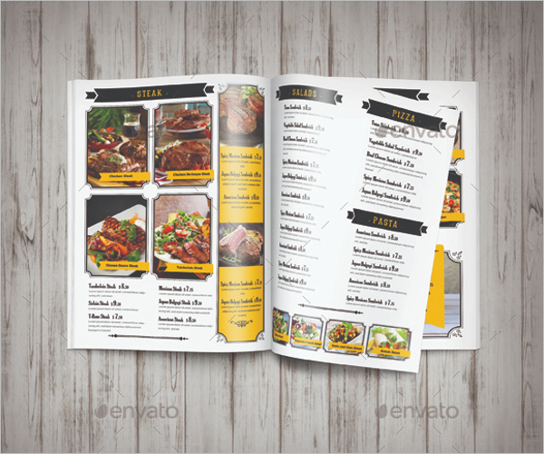 Cafe Menu Design Template
