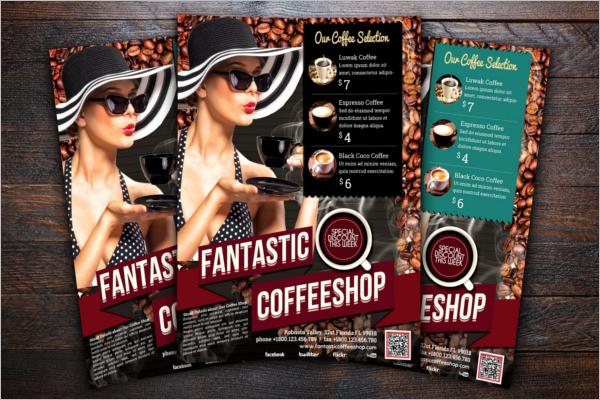 Cafe Menu Flyer Template