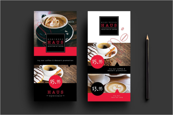 Cafe Menu Template Photoshop
