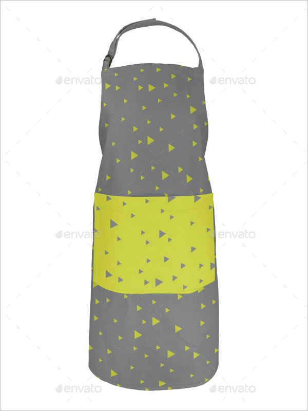 Canva Apron Mockup Design