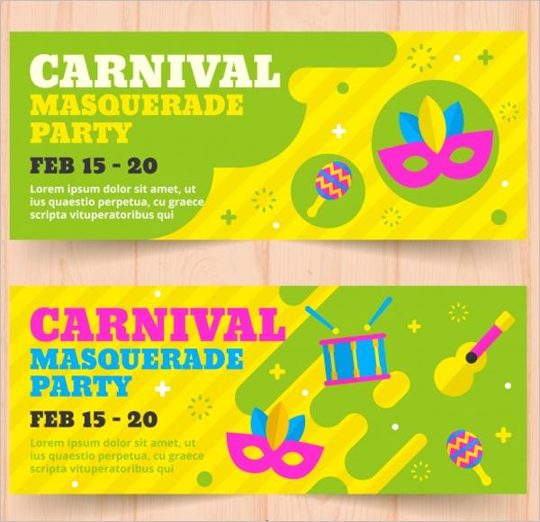 Carnival Banner Design