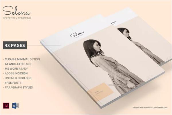 CatalogBook Template