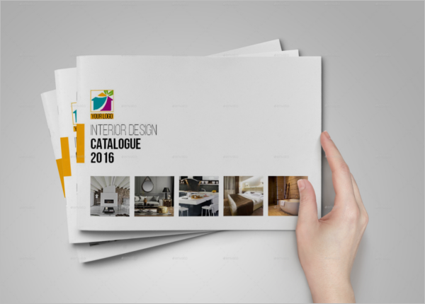 Catalog For Interior Design Template