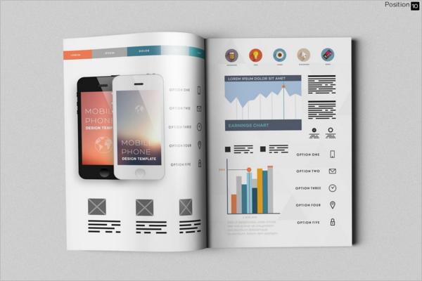Catalog Letter Magazine Mockup Design