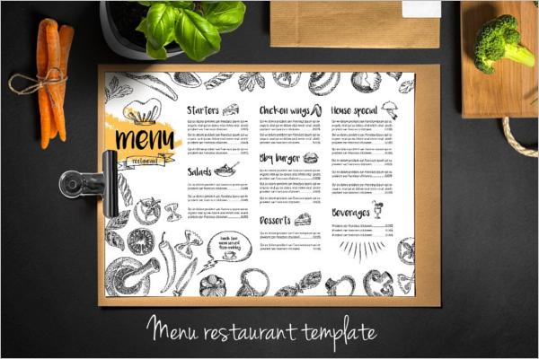 Catalog Restaurant Menu Design