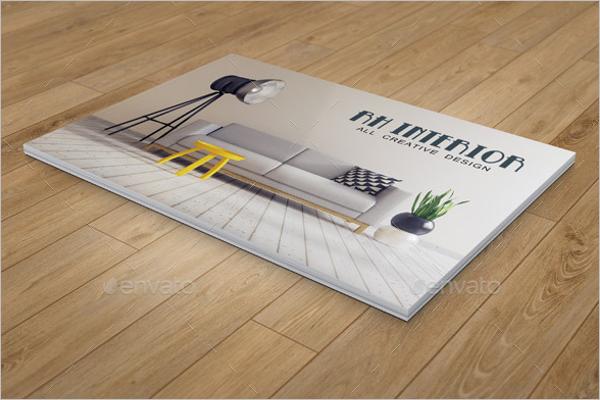Catalog Template for Interior Design