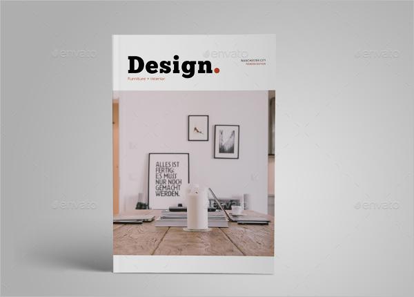 Catalogue design interior template creative template for Interior designs catalogue