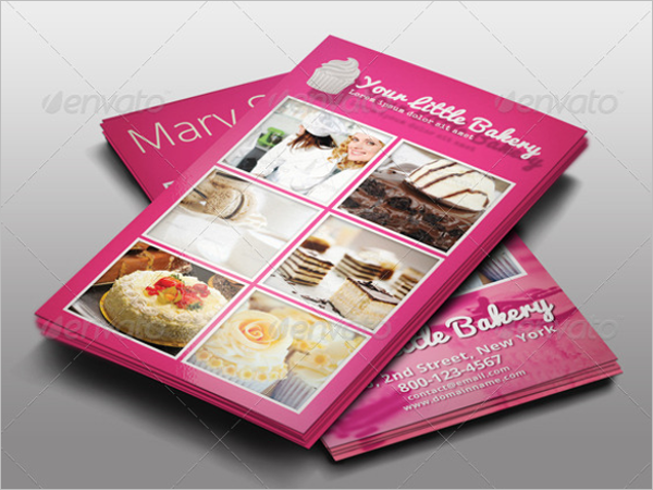 Catering Service Business Card Design