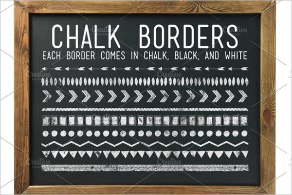Chalkboard Border Design