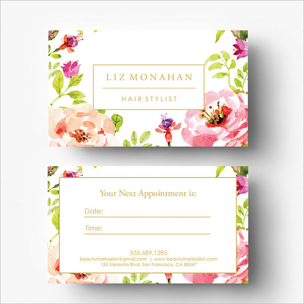 Cheap Appointment Card Template
