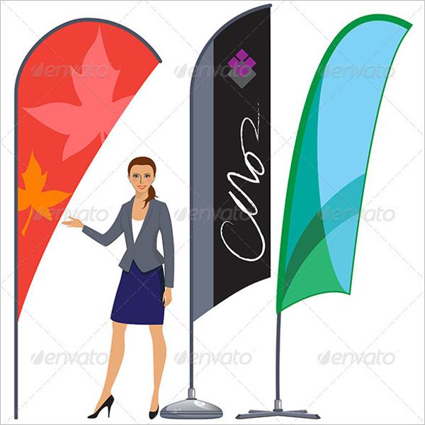 Checkered Flag Banner Design