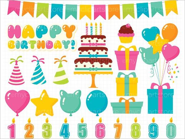 Children Birthday Banner Template