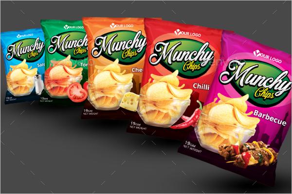 Chips Bag Mockup Pack Design