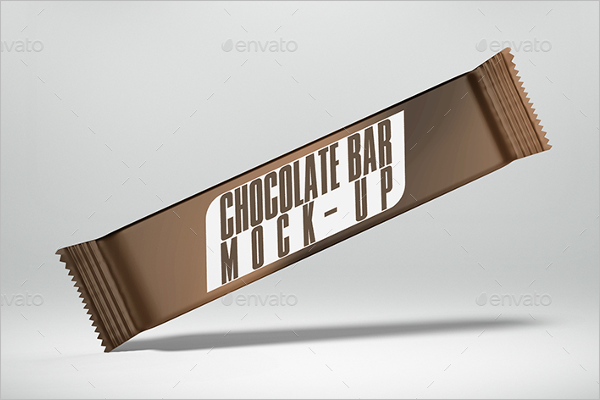 Chocolate Bar Mockup Design