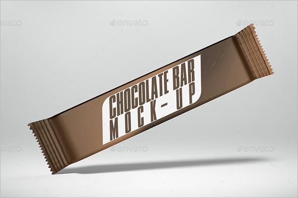 Chocolate Bar Mockup Design