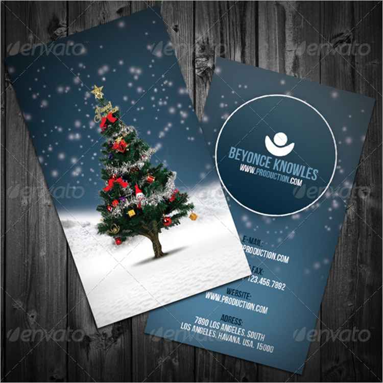 Free Business Christmas Cards - Creativetemplate