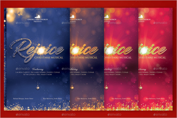Christmas Cantata Event Flyer Template