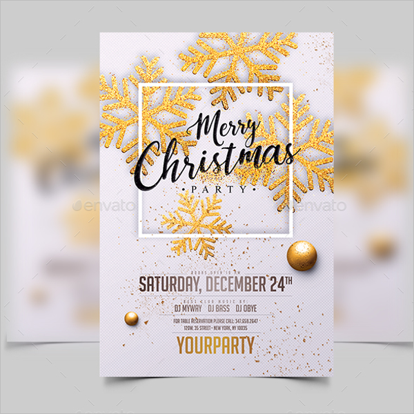 Christmas Event Event Flyer Template