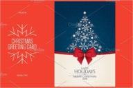 Christmas & New Year greeting card Brochure