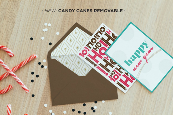 Christmas Newyear Card Mockup