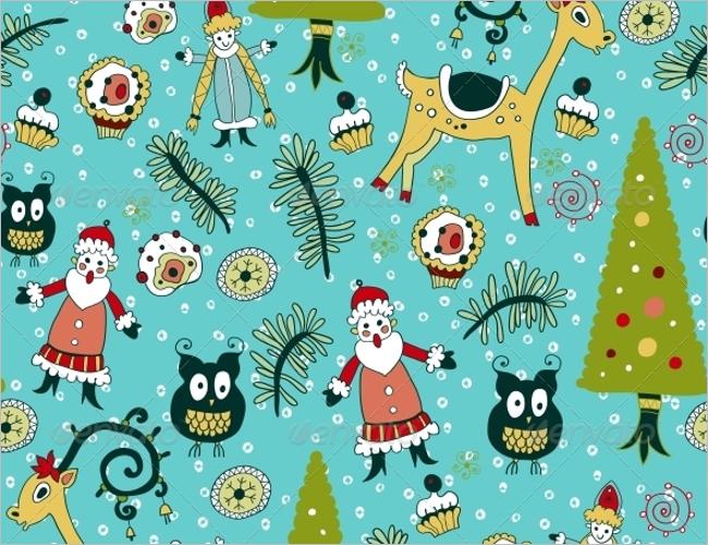 Christmas Texture Elegant Design