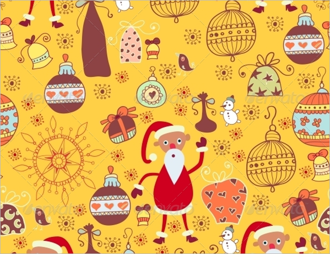 Christmas Toy Texture Design