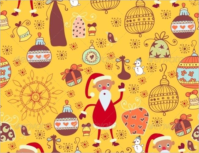 Christmas Toy Texture Design