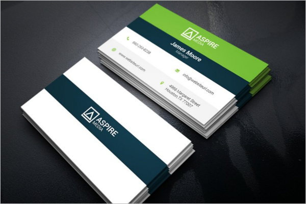 Citi Corporate Business Card Template