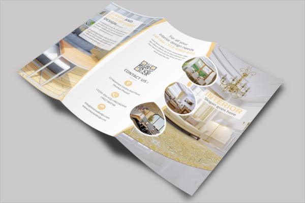 Classic Interior Trifold Brochure Design