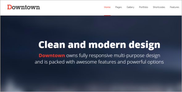 Clean Bootstrap Theme