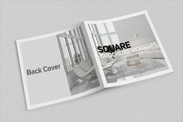 Clean Brochure Mockup Design