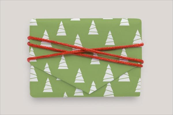 Clean Gift Box Mockup Design