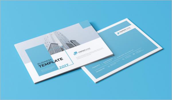 Clean Landscape Brochure Template