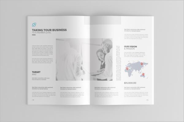 Clean Magazine Catalog Mockup Design