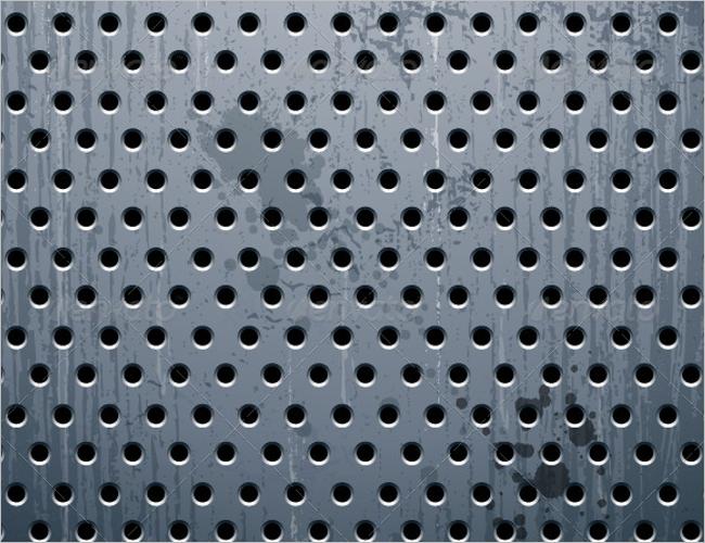 Clean Metal Wall Texture Design